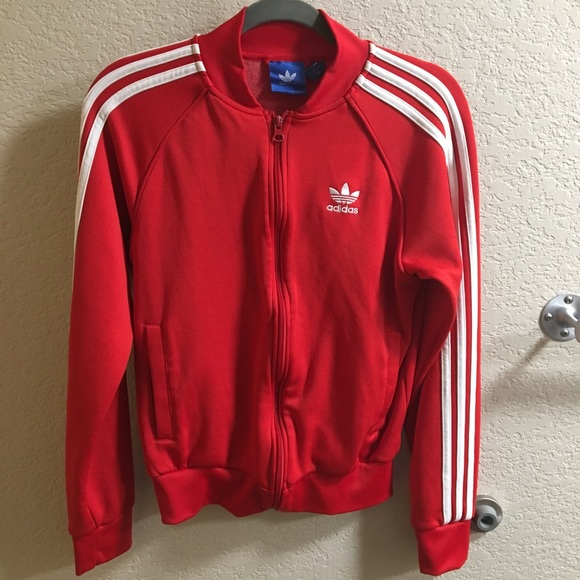 b3402c2f5b76 adidas Other - Adidas Red Track Jacket